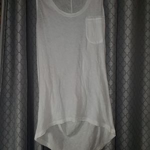 THEORYWhiteTshirt  With Drapped back